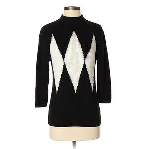 Anne Klein Argyle Patter Pullover Sweater